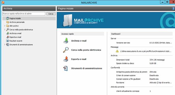 mailArchive web