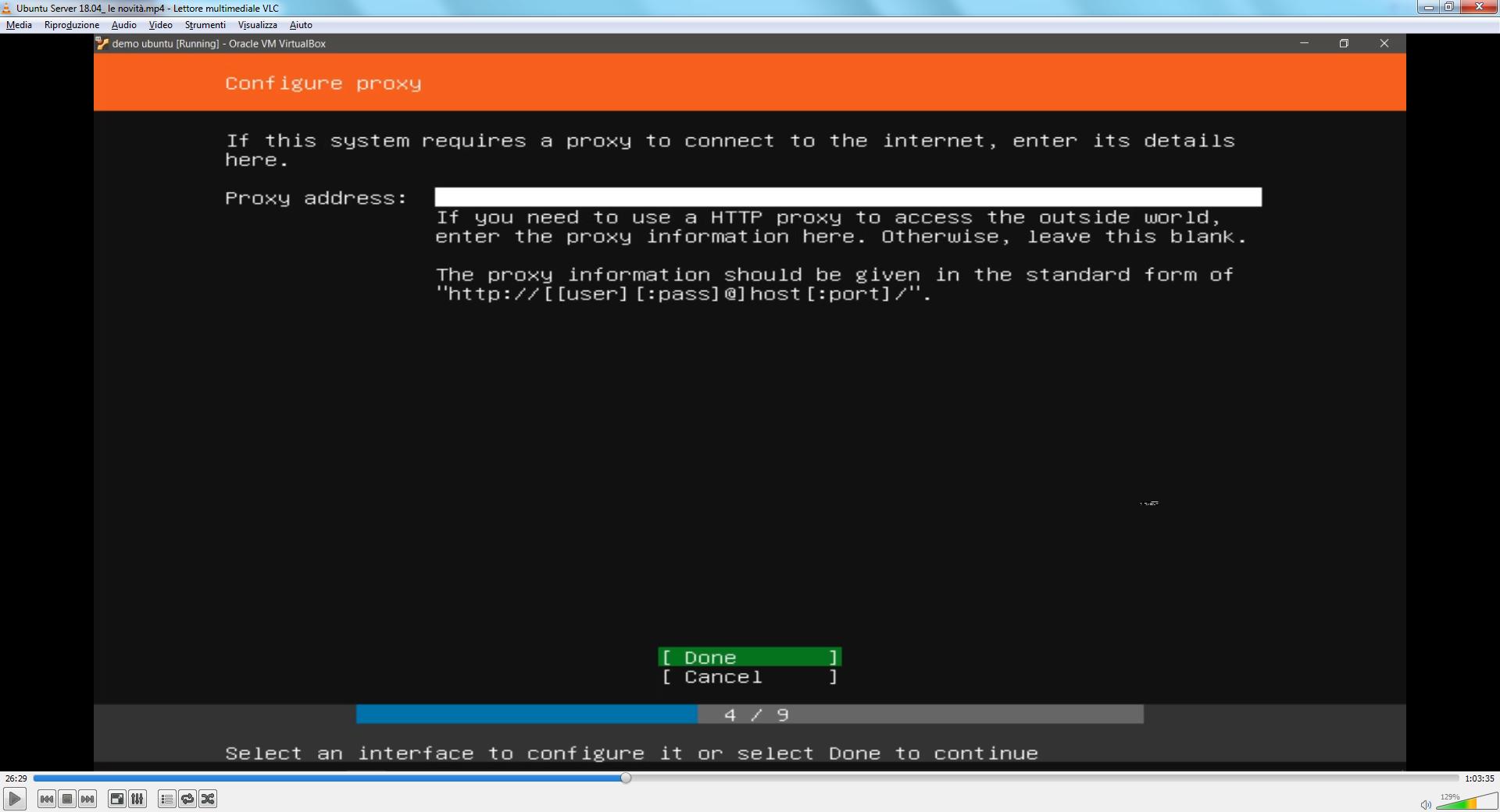 pacchetto lingua italiana ubuntu
