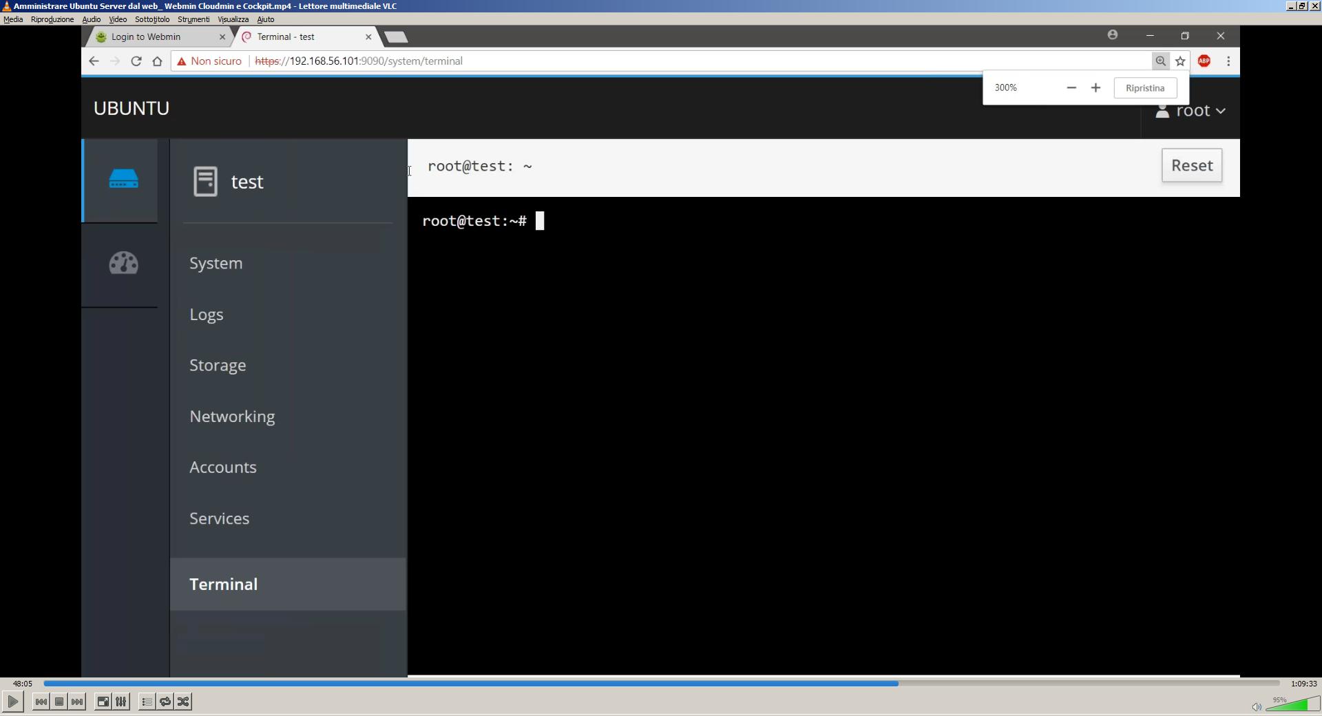 Amministrare Ubuntu Server da web con Webmin e Cockpit