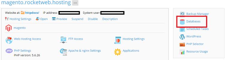 Database - Dump 1