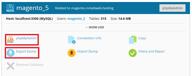 Database - Dump 2