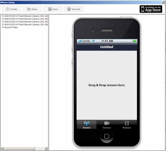AKCessPro Server IPhone Configaration