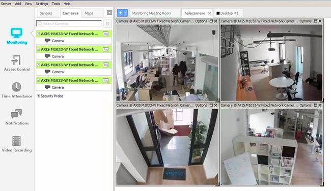 AKCessPro screenshot cameras